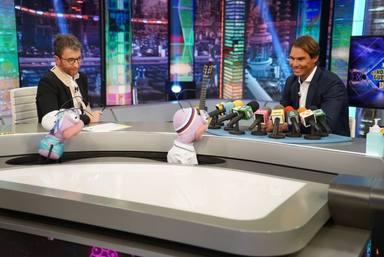 Pablo Motos sufre una avalancha de críticas tras su dura pregunta a Rafa Nadal en 'El Hormiguero'