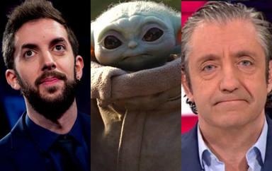 El montaje de 'Babby Yoda' con rostros conocidos como Josep Pedrerol o Broncano que se ha hecho viral