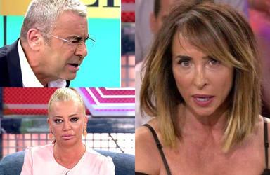 La duras palabras de María Patiño sobre la gran bronca entre Jorge Javier Vázquez y Belén Esteban