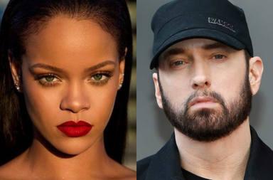 Aumentan los rumores sobre una posible nueva colaboración entre Rihana y Eminem