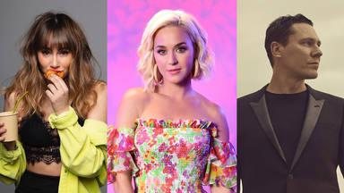"""Katy Perry estaría a punto de lanzar el remix de """"Resilient"""" junto a Aitana y Tiësto"""