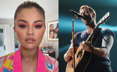 Coldplay y Selena Gomez se unen en una colaboración explosiva que llevará por nombre 'Let Somebody Go'