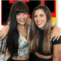 Nía & Marta en MegaStar